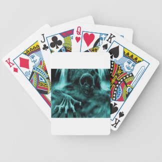 Dead evil blue poker deck