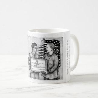 Dead Eye Mug with Vannak and Hillary Clinton