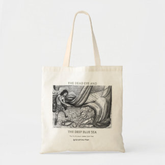 Dead Eye Tote Bag with Vannak and Fish in a Net