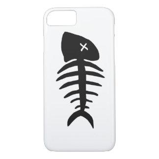dead fish skeleton iPhone 8/7 case