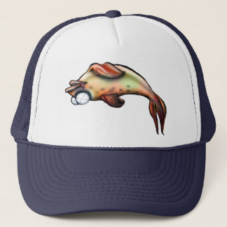 dead fish trucker hat