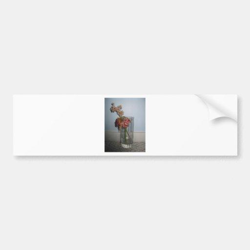 Dead Flowers Bumper Sticker