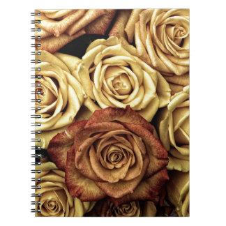 Dead Flowers Spiral Notebook