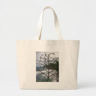Dead Hawaiian Tree Tote Bags