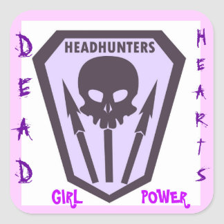 Dead Hearts Stickers