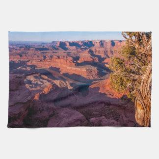 Dead Horse Point Sunrise - Moab, Utah Kitchen Towel
