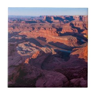 Dead Horse Point Sunrise - Moab, Utah Tile