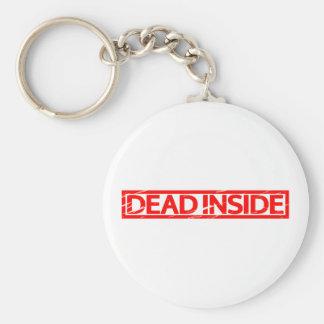 Dead inside Stamp Keychain