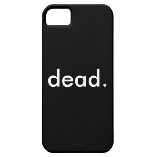 dead iP. 5/5s/5c/SE iPhone 5 Covers