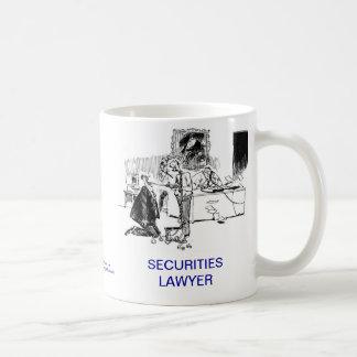 Dead Lawyer™ Securities Lawyer Coffee Mug