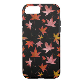 Dead Leaves over Black iPhone 8/7 Case