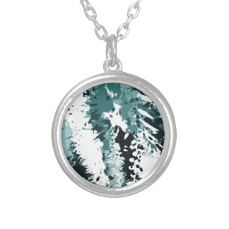 Dead Leaves Silver Plated Necklace