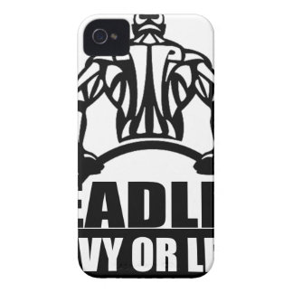 dead lift heavy or leave iPhone 4 cover