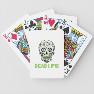 Dead Lifts Bicycle Playing Cards