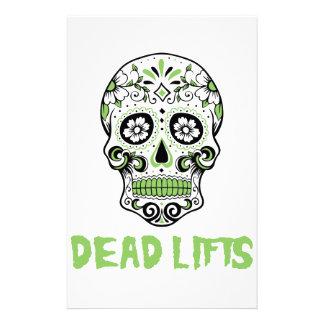 Dead Lifts Custom Stationery