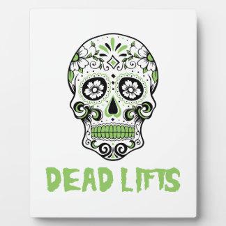 Dead Lifts Plaque