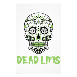 Dead Lifts Stationery