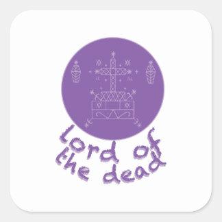Dead Lord Square Sticker