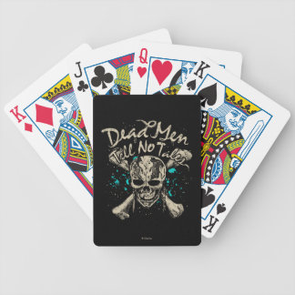 Dead Men Tell No Tales Bicycle Playing Cards