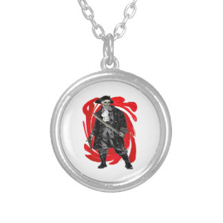Dead Men Tell No Tales Silver Plated Necklace