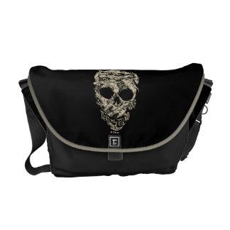 Dead Men Tell No Tales Skull Courier Bag