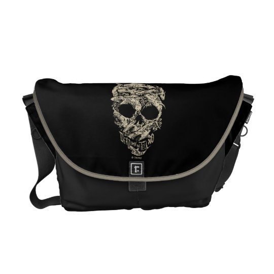 Dead Men Tell No Tales Skull Courier Bag
