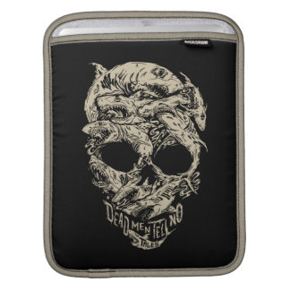 Dead Men Tell No Tales Skull iPad Sleeve