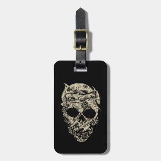 Dead Men Tell No Tales Skull Luggage Tag