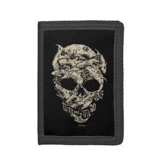 Dead Men Tell No Tales Skull Trifold Wallets