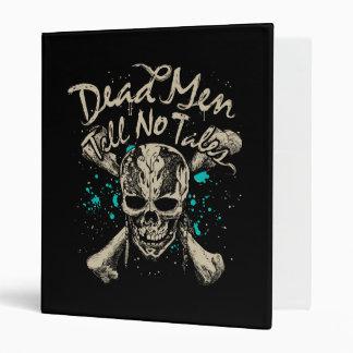 Dead Men Tell No Tales Vinyl Binders