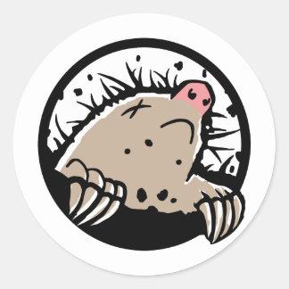 Dead Mole Sticker