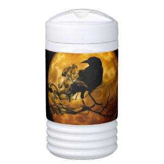 Dead moon crow drinks cooler