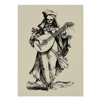 DEAD Musician - black print
