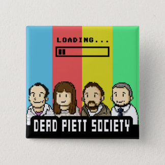 Dead Piett Society Badge 2 Inch Square Button