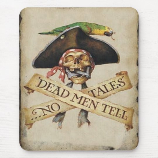 Dead Pirate Mouse Pad