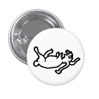 dead rabbit 1 inch round button