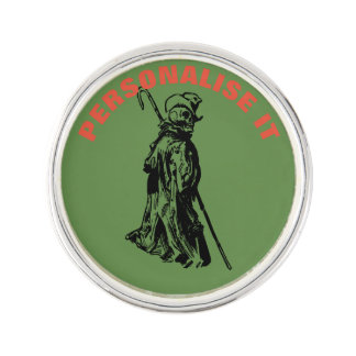 Dead reanimated lapel pin