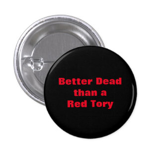 Dead Red Tories Scottish Independence Badge Pins