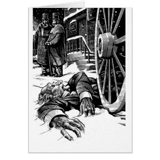 Dead Scrooge Card