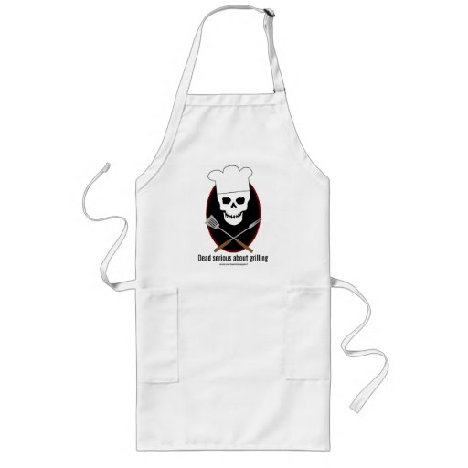 Dead Serious... grilling apron