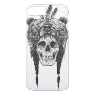 Dead shaman (b&w) iPhone 8/7 case