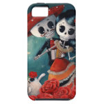 Dead Skeleton Mexican Lovers iPhone 5 Covers