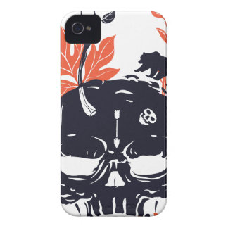 dead skull and bear iPhone 4 case