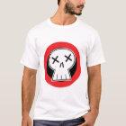 """""""Dead"""" Skull Red Target Shirt"""