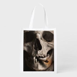 Dead Skull Smoking Market Tote