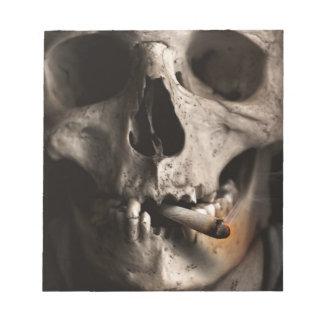 Dead Skull Smoking Notepads