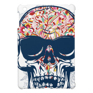 dead skull zombie colored design iPad mini cases