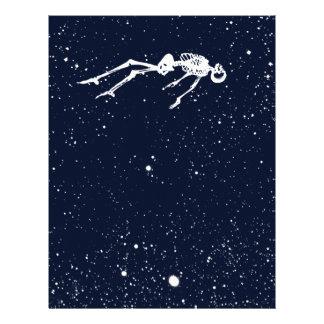dead space custom letterhead