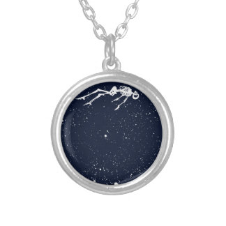 dead space silver plated necklace