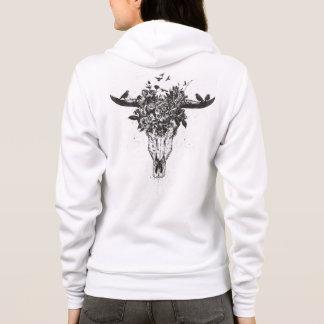 Dead summer (blackandwhite) hoodie